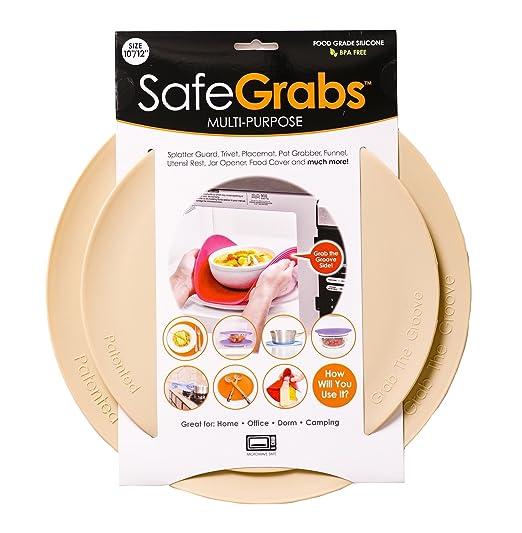 Safe Grabs - Protector de microondas multiusos 8 en 1 de ...