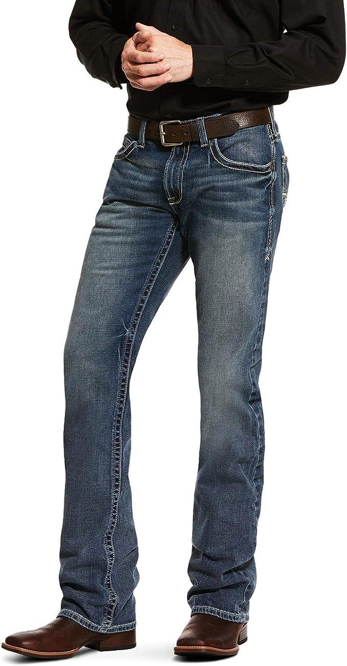 ARIAT Mens M5 Slim Fit Straight Leg Jean