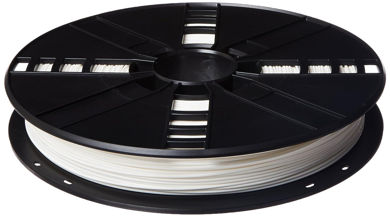 MakerBot PLA Filament, 1.75 mm Diameter, Large Spool, White MP05780