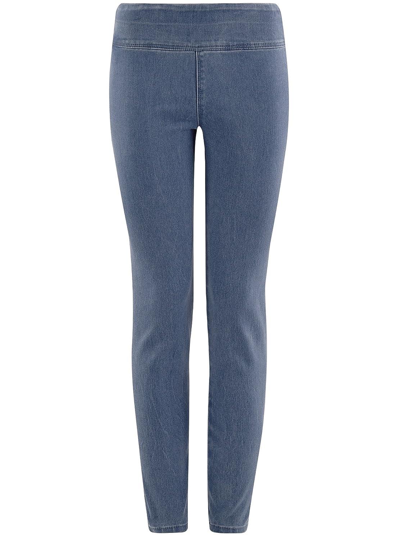 Yying Jeans Svasati Slim Fit Donna Jeans Svasati Denim con Fondo a Campana S-XL