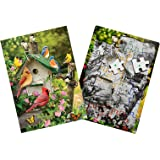 Singing Around the Birdhouse 35 Piece Sequenced Jigsaw Puzzle for Dementia and Alzheimer's by Keeping Busy for Older Adults