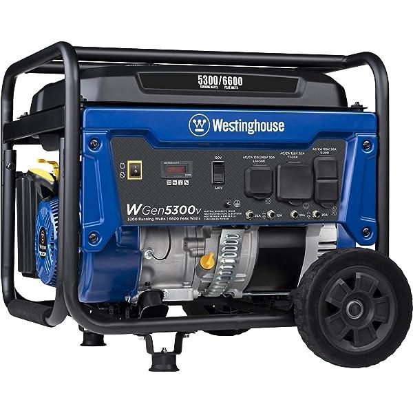 Amazon Com Yamaha Ef5500de 4500 Running Watts 5500 Starting Watts Gas Powered Portable Generator Garden Outdoor