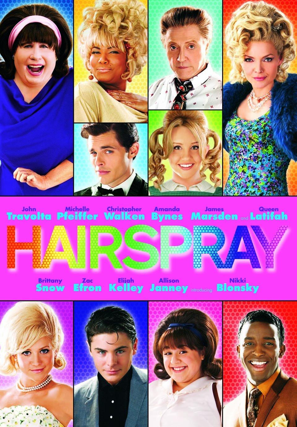 洋画で人気のおすすめミュージカル映画ランキング7位「ヘアスプレー」
