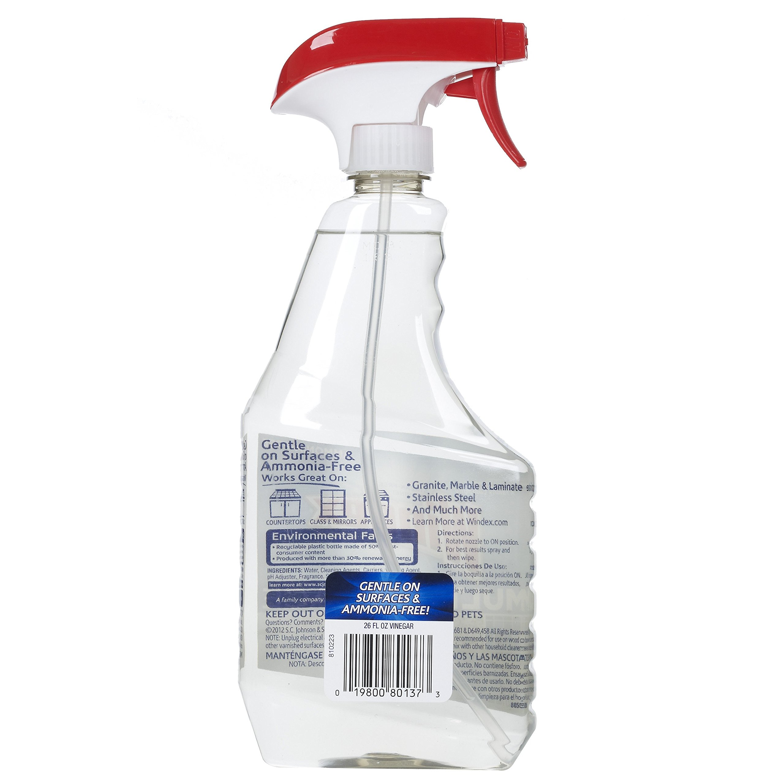 Windex Vinegar Multi-Surface Cleaner 26 Ounce