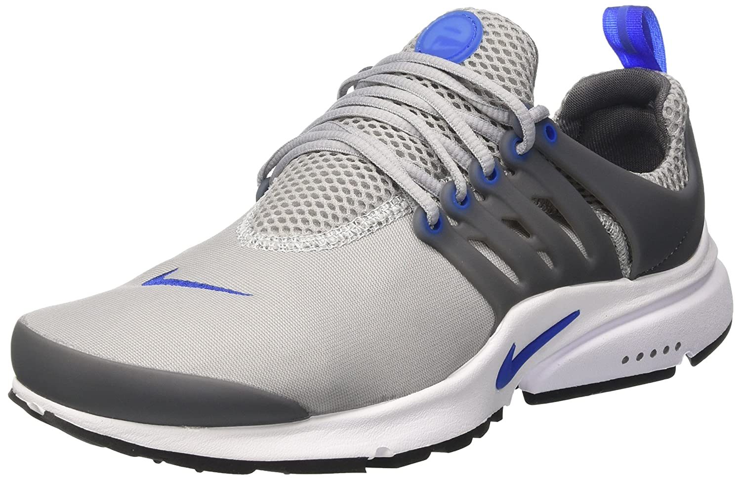 Nike Herren Air Presto Essential Trainer  40 EU|Grau (Wolf Grey/Game Royal/Dark Grey/Black)