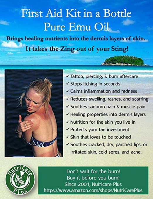 07b7af186f Amazon.com  4oz Organic Emu Oil
