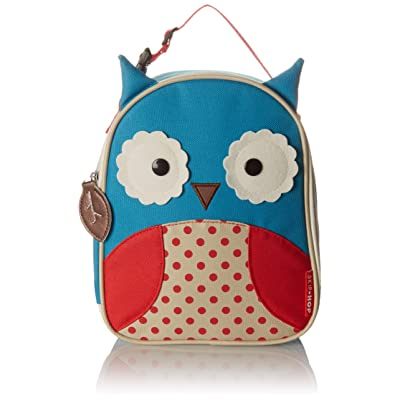 Skip Hop Zoo Kids Insulated Lunch Box, Otis Owl, Blue : Reusable Lunch Bags : Baby
