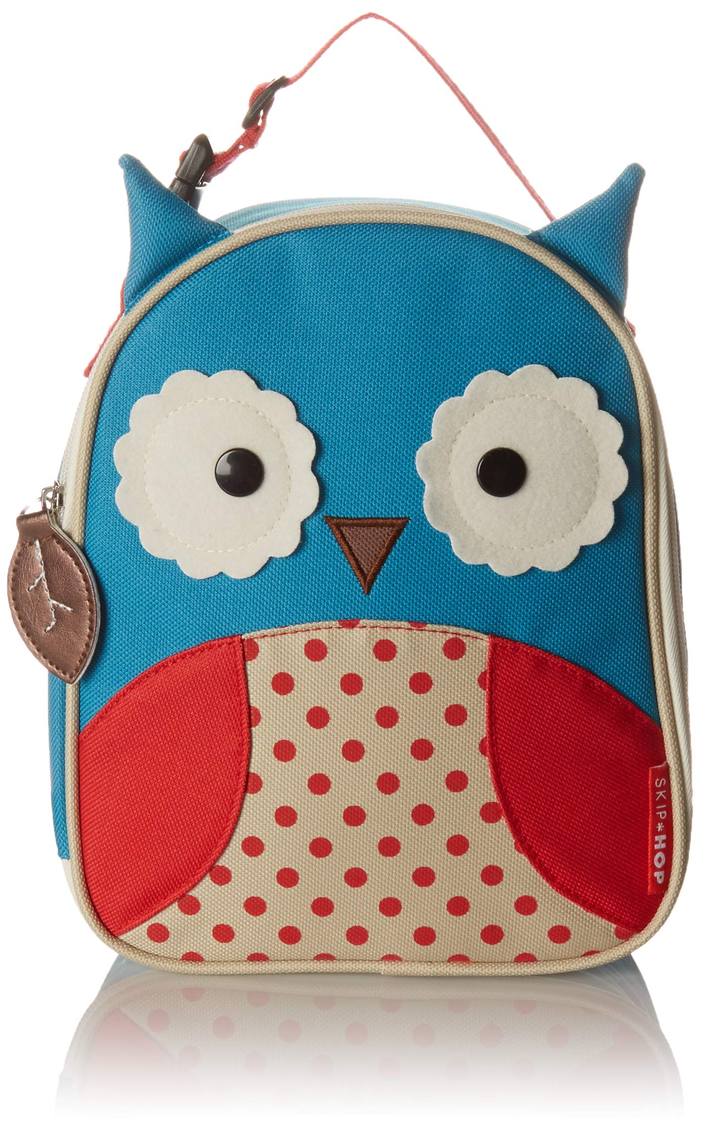 Skip Hop Zoo Kids Insulated Lunch Box, Otis Owl, Blue (DISCONTINUED BY MANUFACTURER)