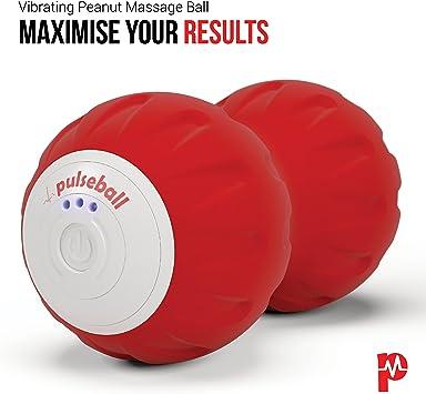 Pelota de masaje con forma de cacahuete de Pulseroll, para ...