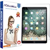 CELLBELL Tempered Glass Sillicone Screen Protector for Apple Ipad Pro (10.5) - 2017 with Installation Kit