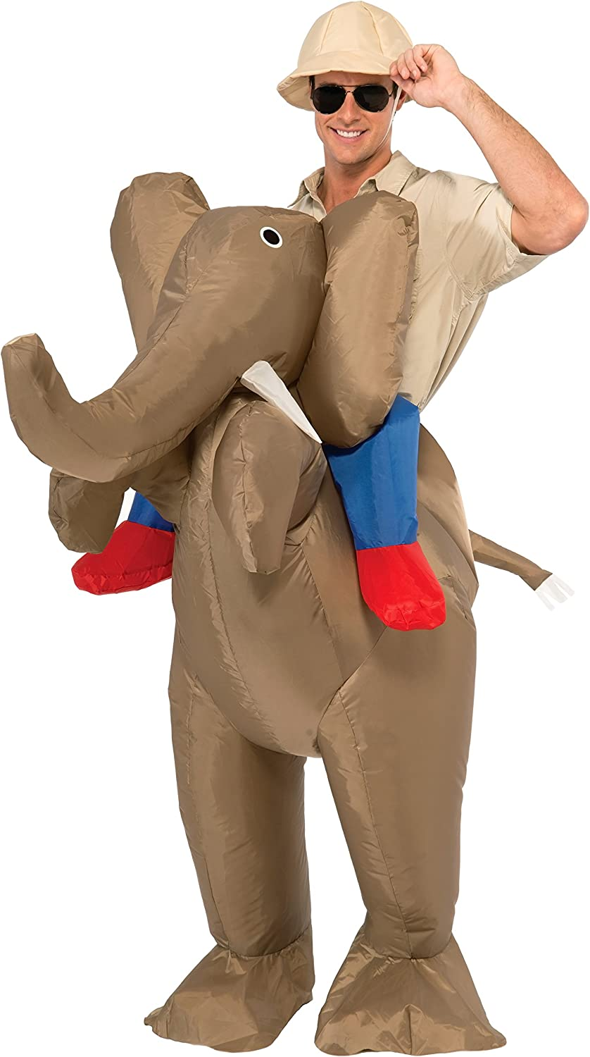 Adult Inflatable Ride An Elephant Costume