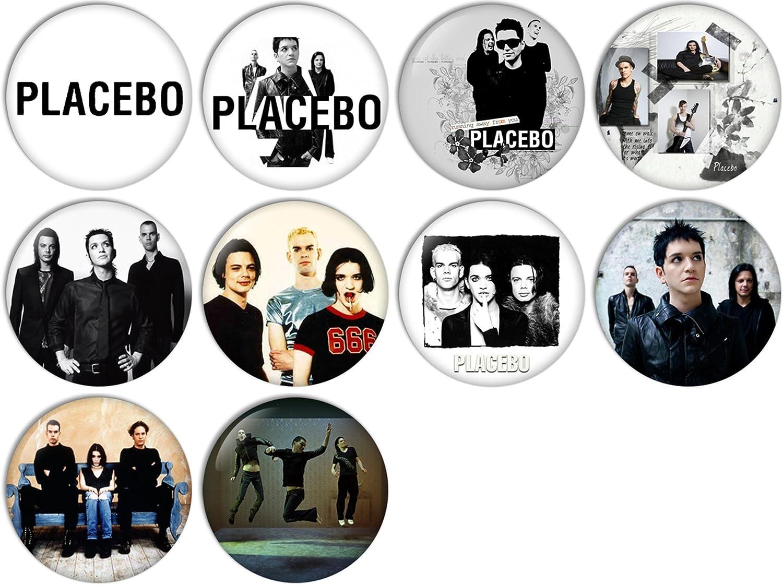 Placebo 25mm Pin Badge Placebo 1