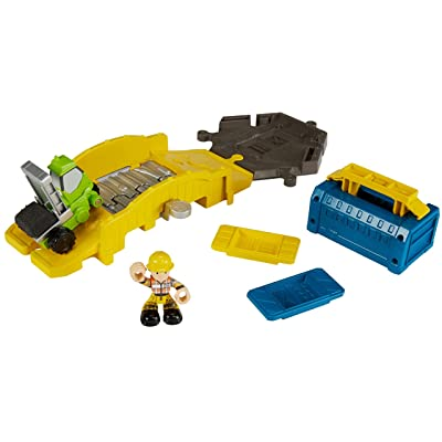 Fisher-Price Bob the Builder, Mash & Mold Bridge Builder Playset: Toys & Games