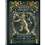 Caderno Espiral Game Of Thrones 200 Folhas - Tilibra Preto