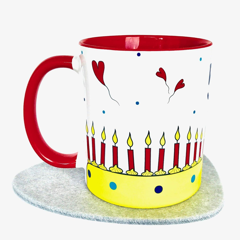 Geburtstag Tasse mit Spruch lustig versandfertig Geschenk-Idee 50