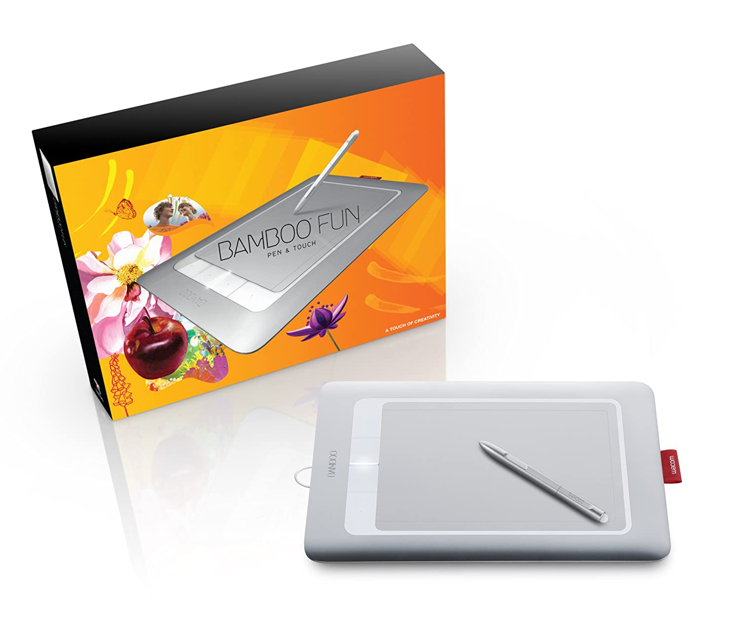 Works Terrific Value Tablet Only Wacom Graphics Tablet Bamboo Fun Drawing Cte-450 Black