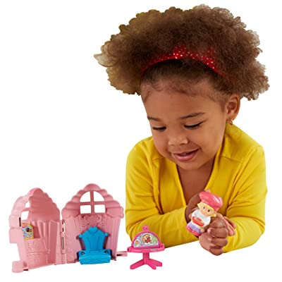 Fisher-Price Little People Fold 'n Go Bakery: Toys & Games