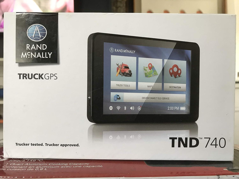 Rand McNally TND 740 IntelliRoute Truck Navigation GPS