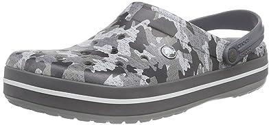 161c4c56090325 crocs Unisex Crocband Camo Clog Mule