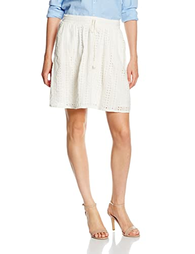 Tom Tailor Denim Hole Embroidered Mini Skirt, Falda para Mujer