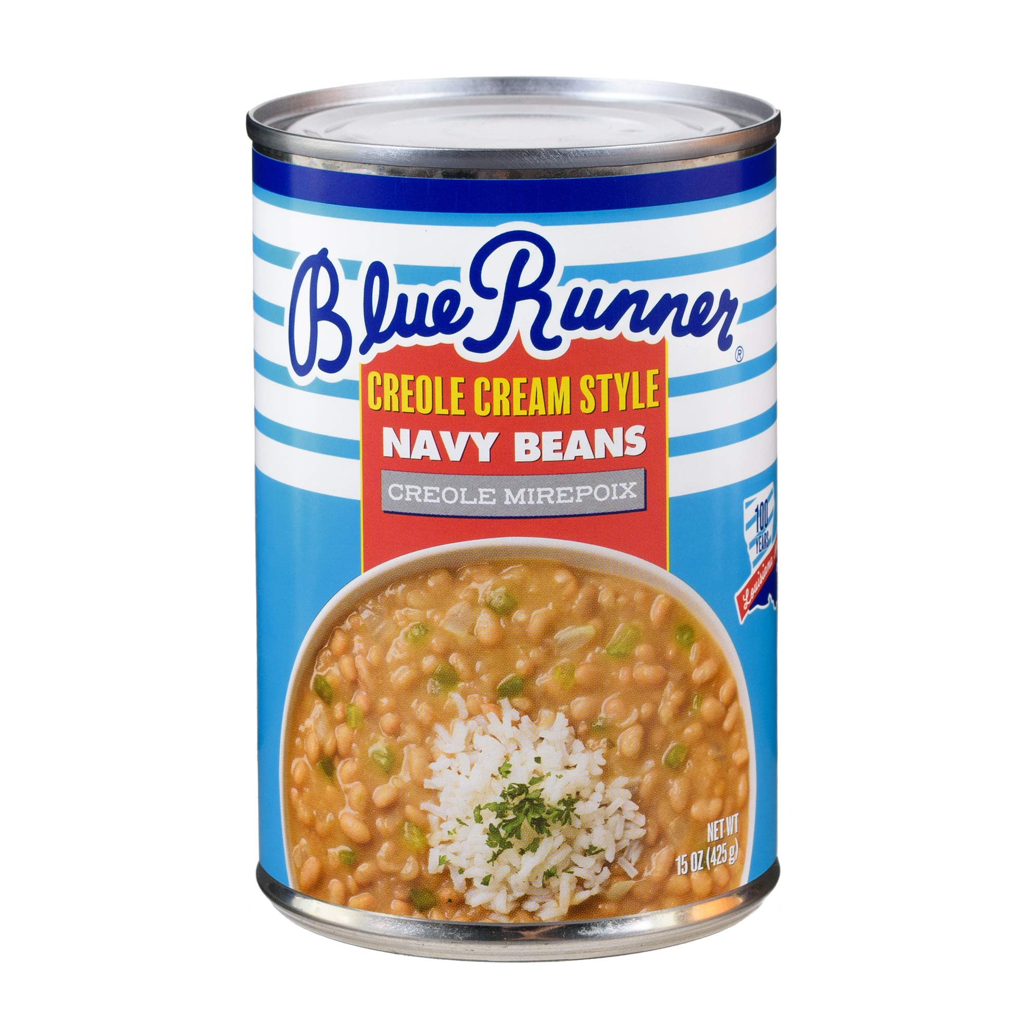 Blue Runner Creole Cream Style Navy Beans With Creole Mirepoix (6 pack)