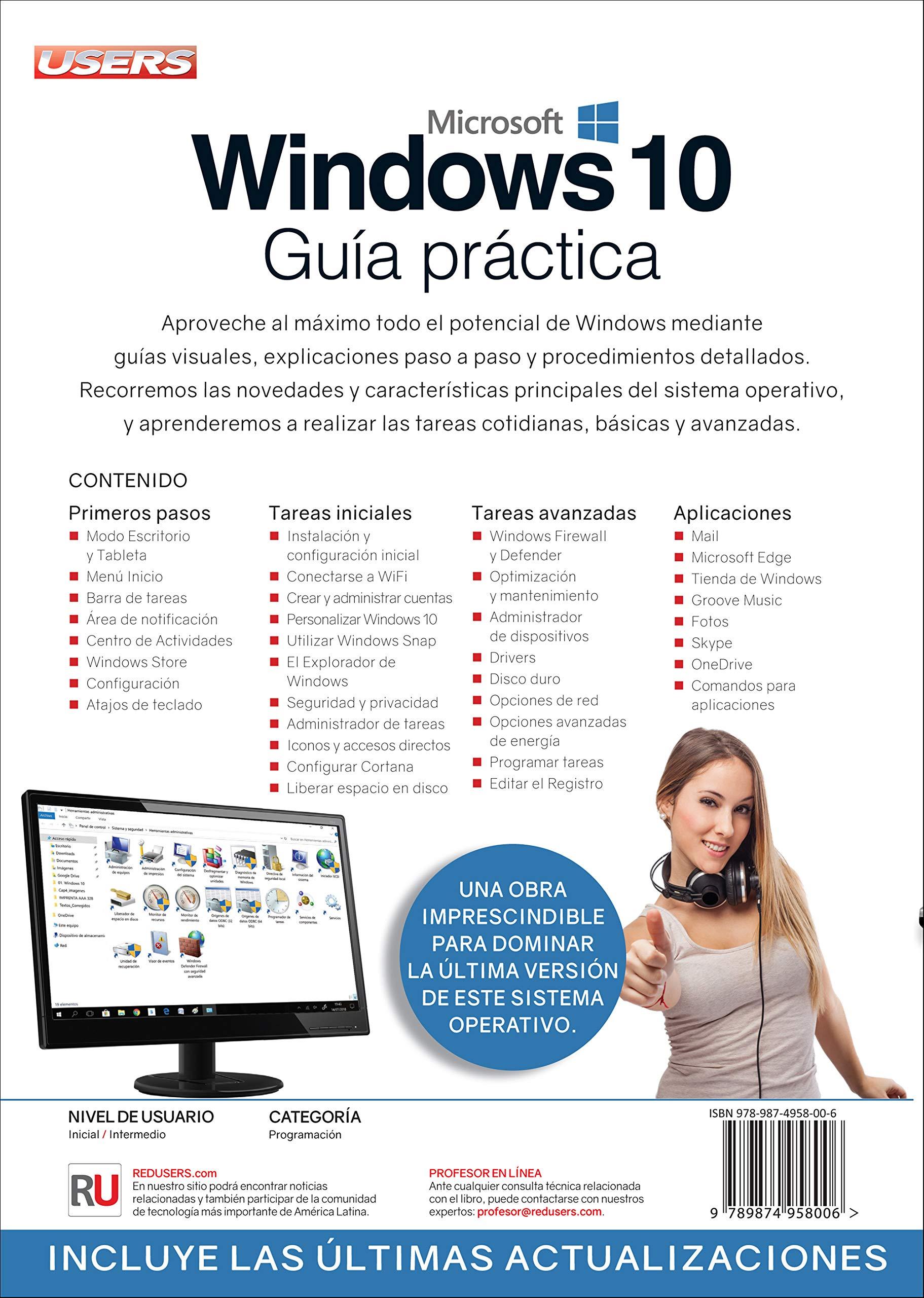 Windows 10 - Guía Práctica (Spanish Edition): Staff Users, USERS ...