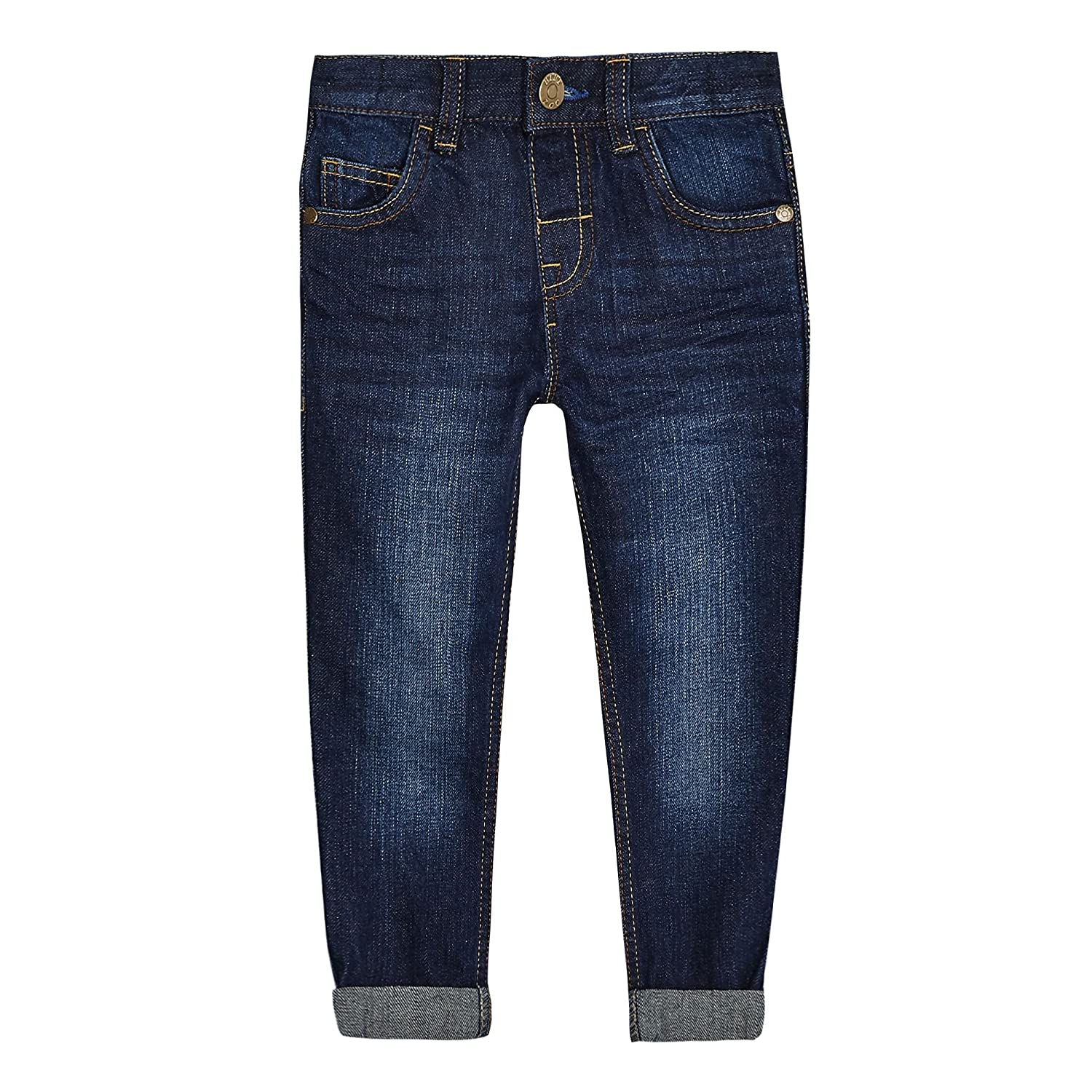 bluezoo Kids Boys' Blue Mid Wash Jeans