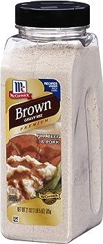 McCormick Premium Brown Gravy Mix, 21 Ounce