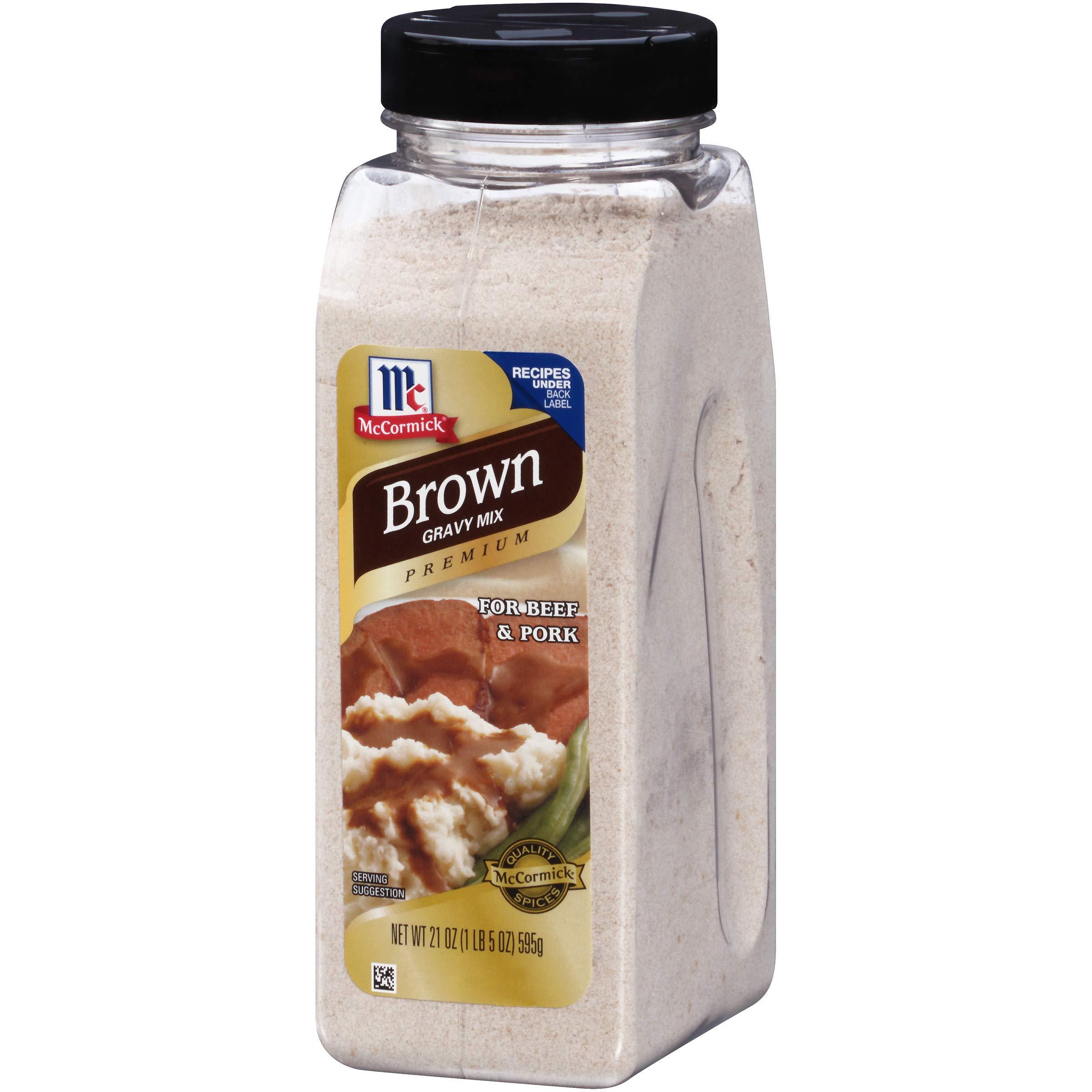 McCormick Premium Brown Gravy Mix, 21 oz