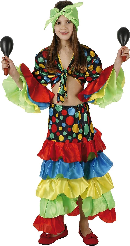 Desconocido Disfraz de rumbera: Amazon.es: Juguetes y juegos