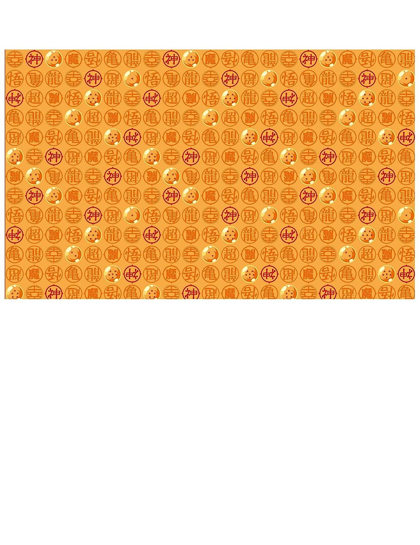 Multicolor 5cg82010/ comogiochi mantel papel 120/x 180/cm Dragon Ball Z