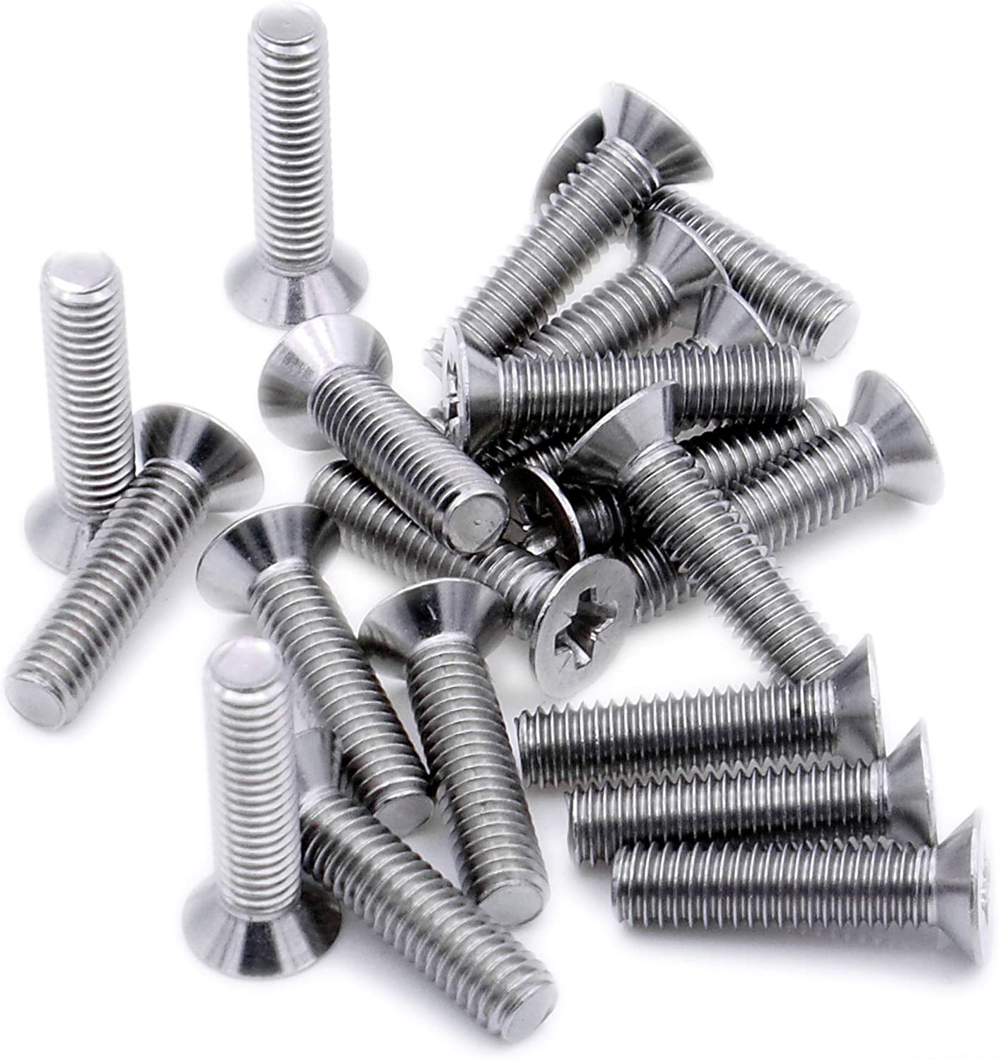 Pack of 100 Machine Screws//Bolts A2 Stainless Steel Pozi Pan Head Mch Screw M3 3mm x 6mm