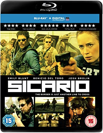 Image result for sicario blu ray