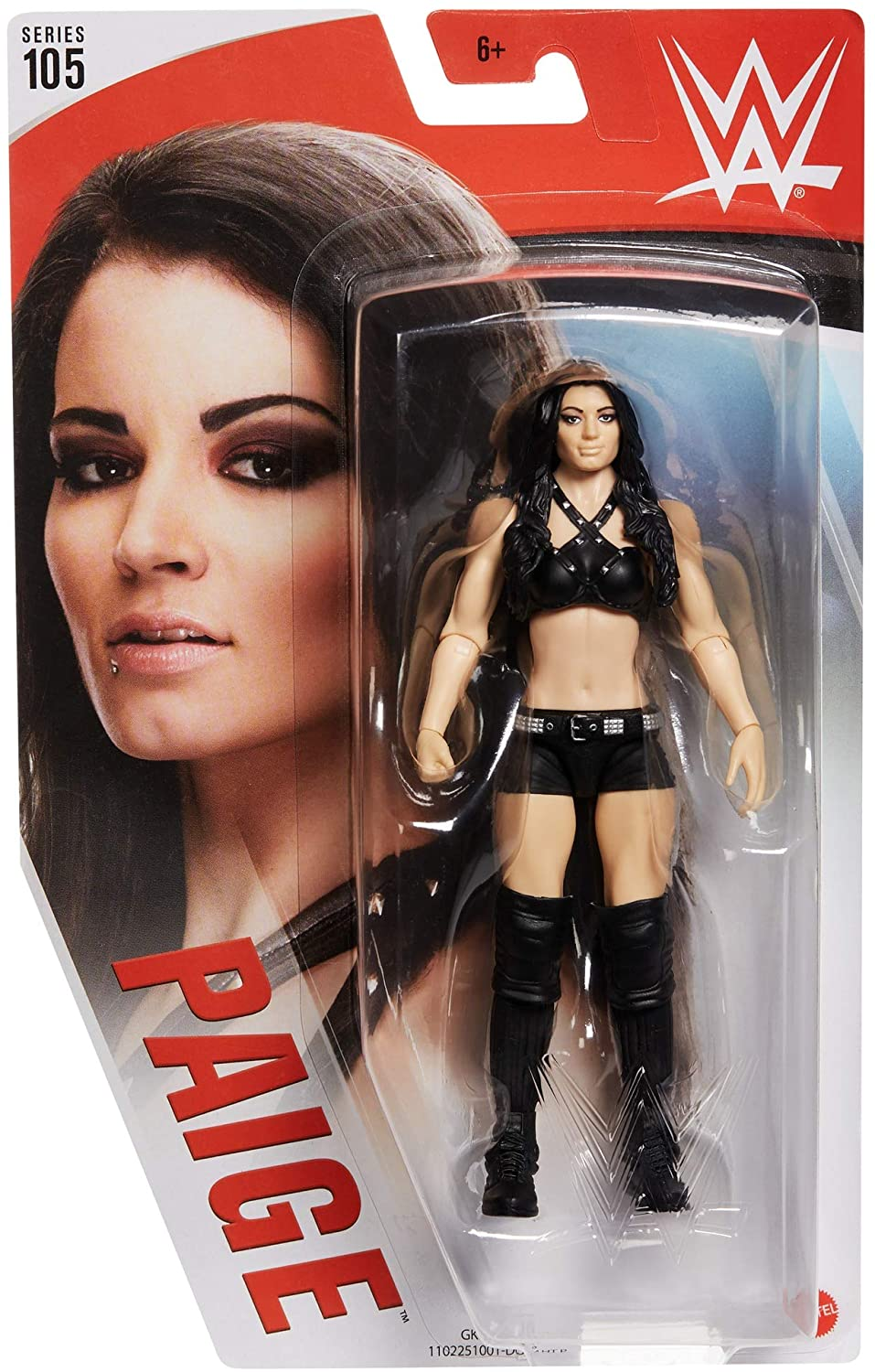 WWE Mattel Great for Customs PAIGE Head Elite Basic series 105 HEAD ONLY