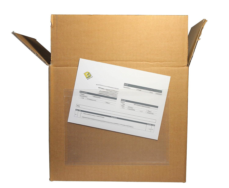 Docustick 1.000 Buste autoadesive porta documenti neutre formato C5 162x228