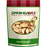 Sincerely Nuts Brazil Nuts Roasted & Salted No Shell - One (1) Lb. Bag - Incredibly Amazing Taste and Freshness - Packed With Healthy Nutrients - Kosher