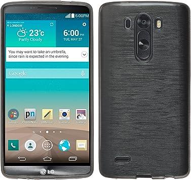 PhoneNatic 30003211 - Carcasa para móvil LG G3, plateado: Amazon ...