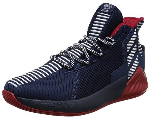 Adidas D Rose 9 Zapatillas de Baloncesto Hombre Azul, 47 1/3 ...