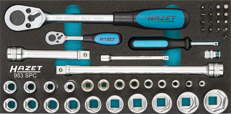 Hazet 953 SPC Serie Di Chiavi A Bussola Multicolore Cavo 12.5 mm 1//2 di Pollice Attacco Quadro