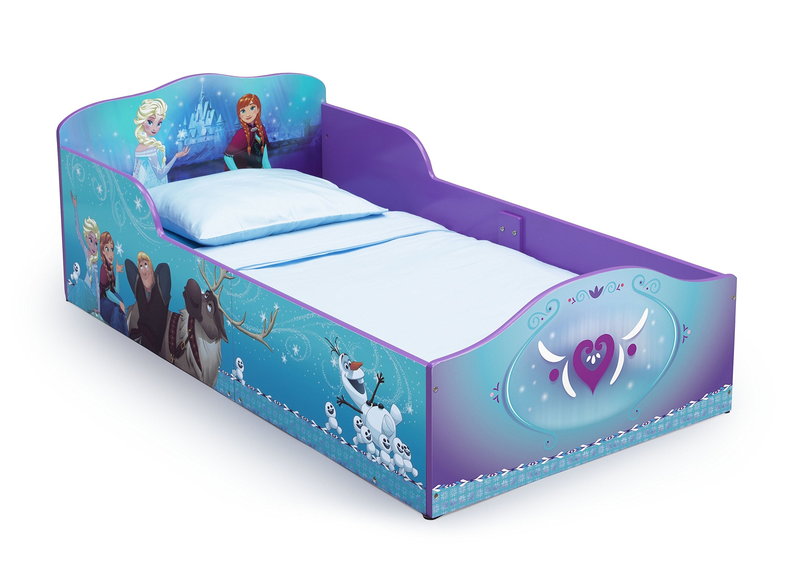 Delta Children Wood Toddler Bed, Disney Frozen by Delta Children (Image #1)
