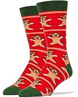 Oooh Yeah Socks Mens Cotton Crew Funny Christmas