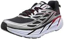 Hoka One One Clifton 3 Running Shoes - Mens Black/Anthracite 7