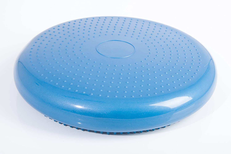 FA Sports Yoga Sitzkissen ZenRest DynaMove 33x33x6 cm blau
