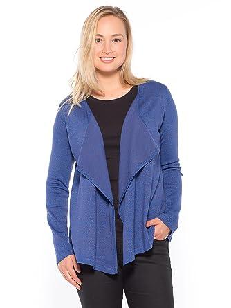 dd7e2409e8c46d Balsamik - Gilet brillant - femme - Taille : 38/40 - Couleur : Bleu ...