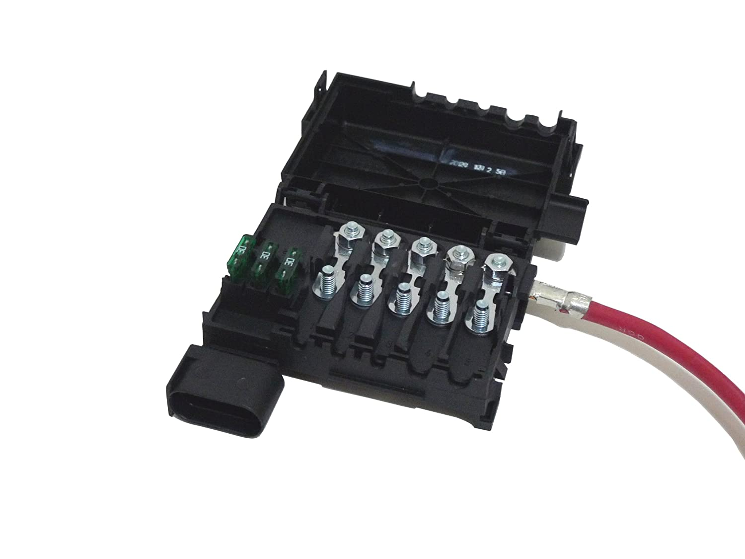 Audi A3 2001 2003 Tt Battery Top Fuse Box Bracket With 03 Cable Automotive