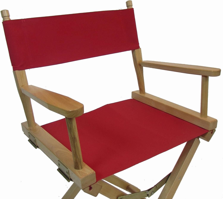 Trademark Innovations DIREC30LW-BL Director Chair Black