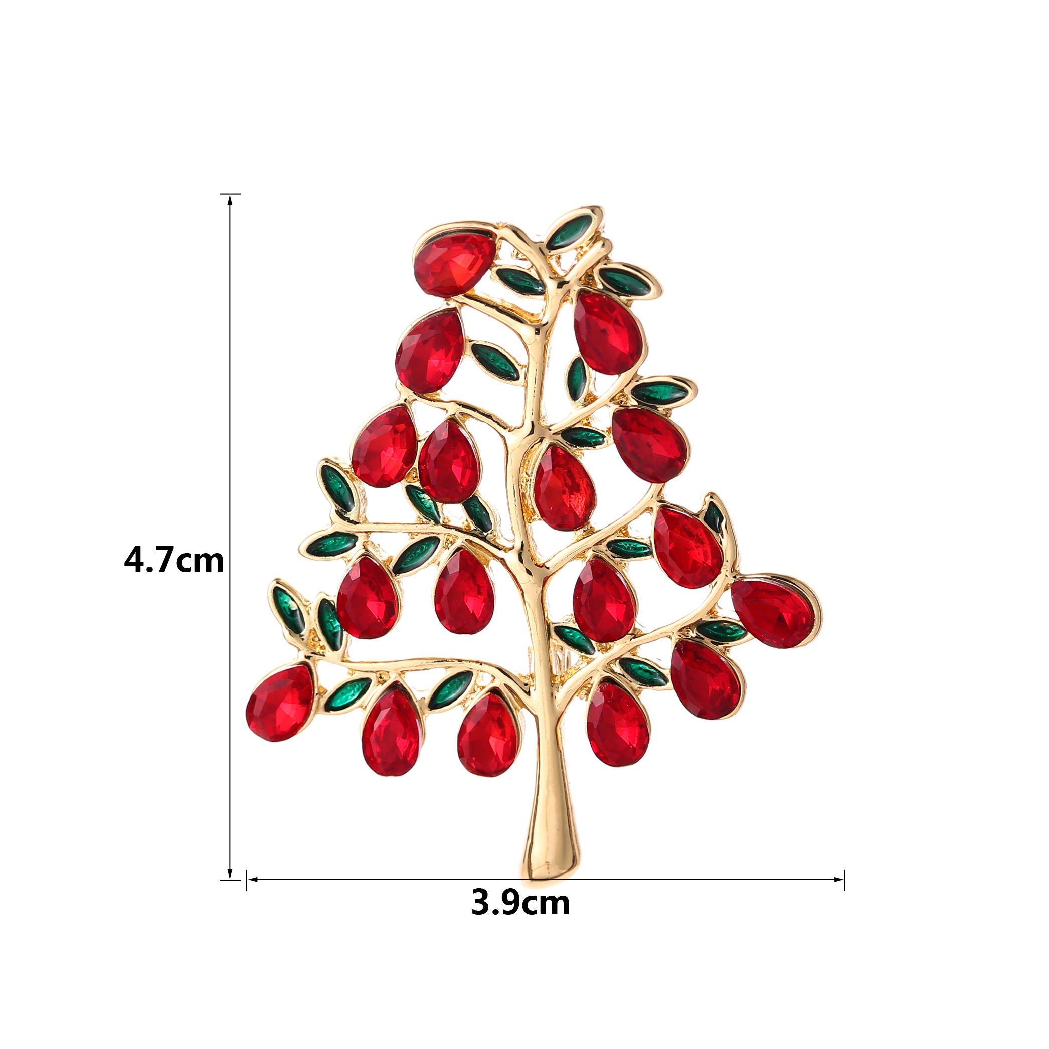 YSD Christmas Brooch Pins set Holiday Brooch Xmas Pin Lot Party Favor set christmas tree pins set by YSD (Image #3)