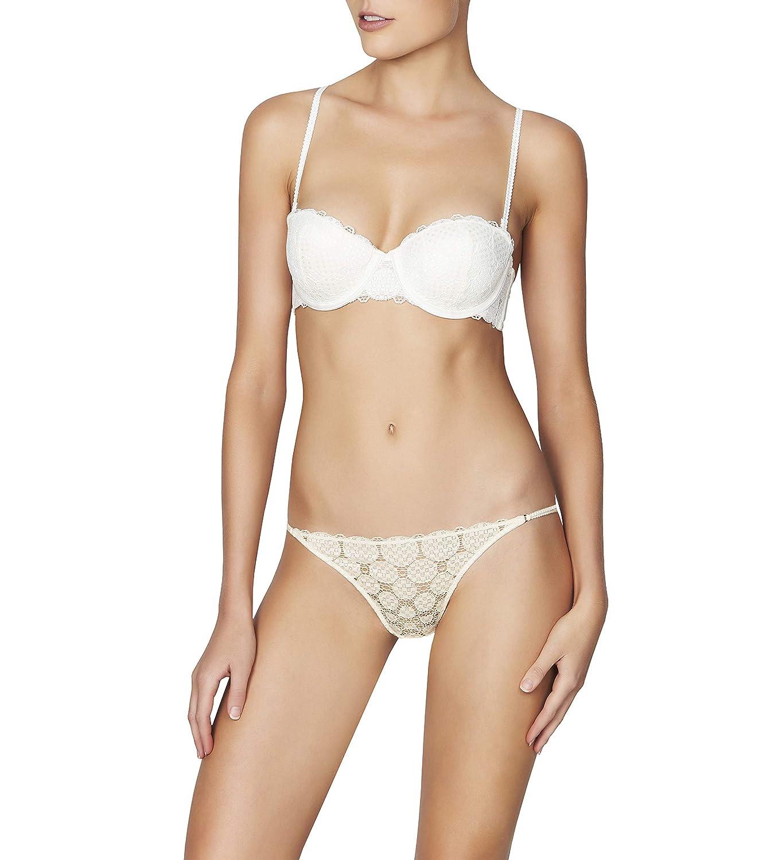 86138d9bb Heidi Klum Intimates Women s Strapless Balconette Bra - Ladies Sexy  Underwire Lingerie at Amazon Women s Clothing store