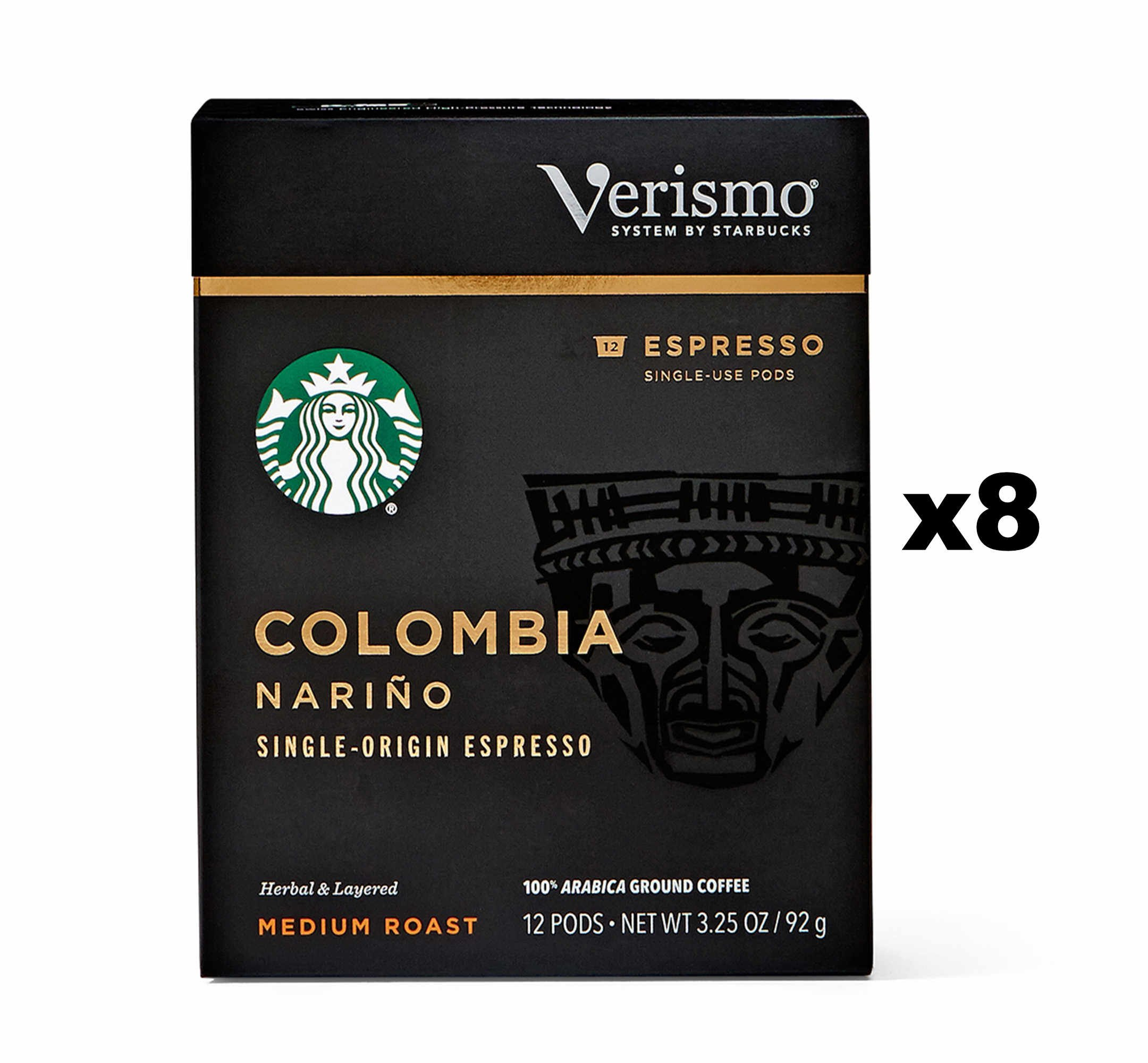 Starbucks Colombia Nariño Espresso Verismo Pods (96 Count) by Starbucks (Image #1)