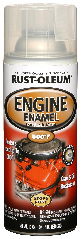 Rust-Oleum 248944 Automotive 11-Ounce 500 Degree Engine Enamel Spray Paint, Clear